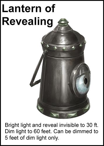Lantern of Revealing card